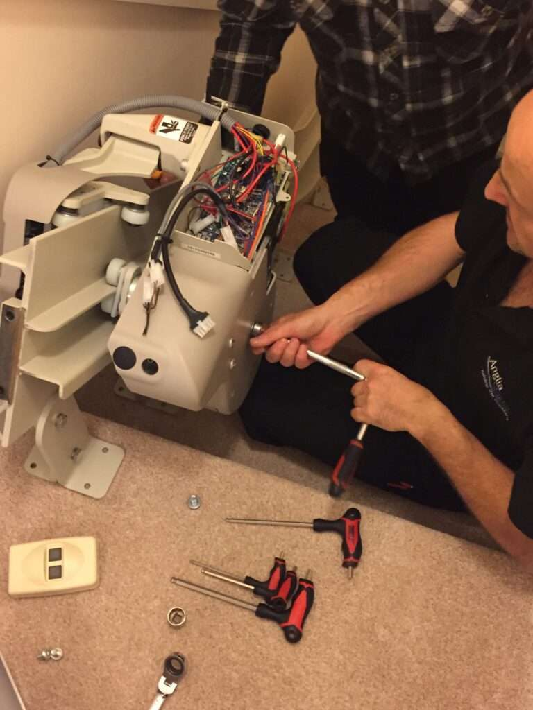Stairlifts Peterborough removal