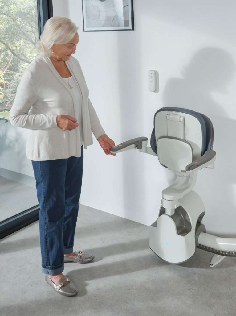 Products from Anglian Lifts, Flow x Curved Stairlift