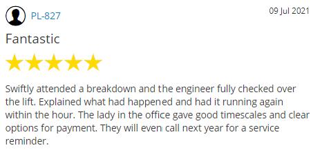 Yell.com customer review