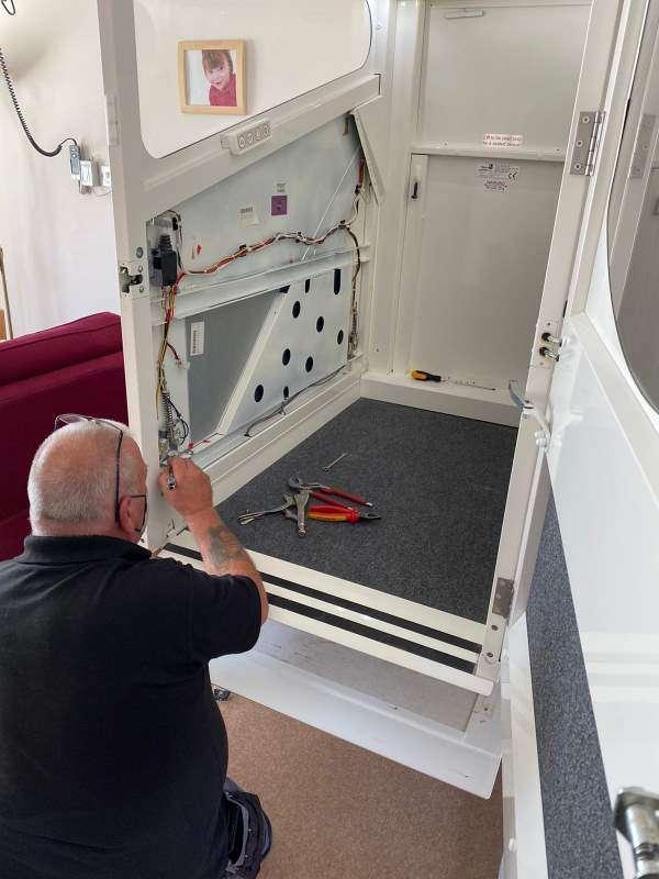 Through floor lift service and repair