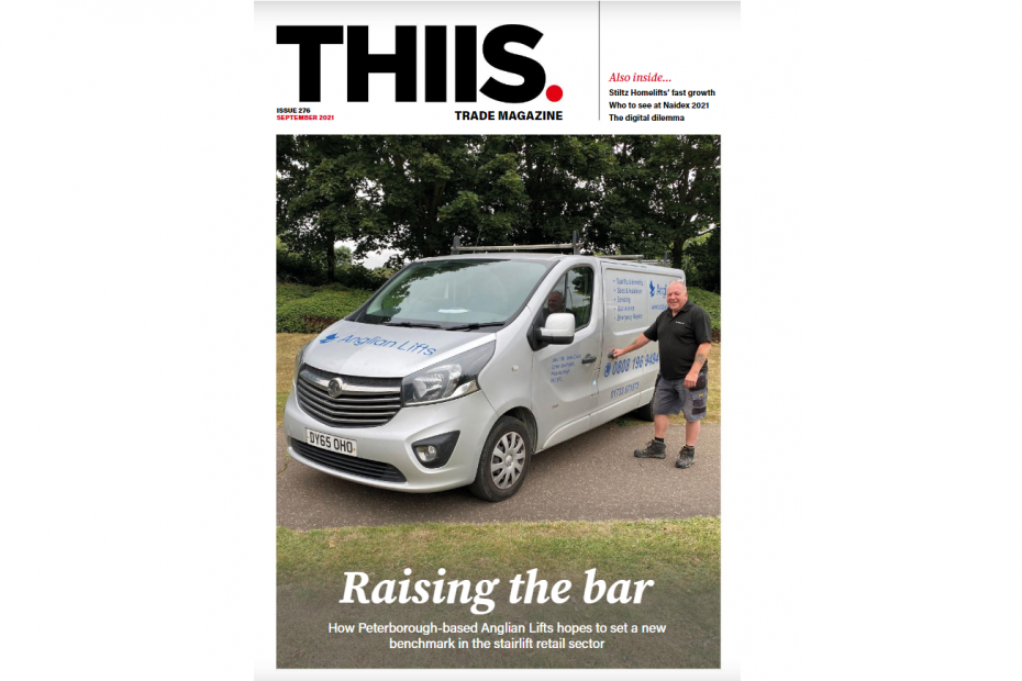 Anglian Lifts front cover